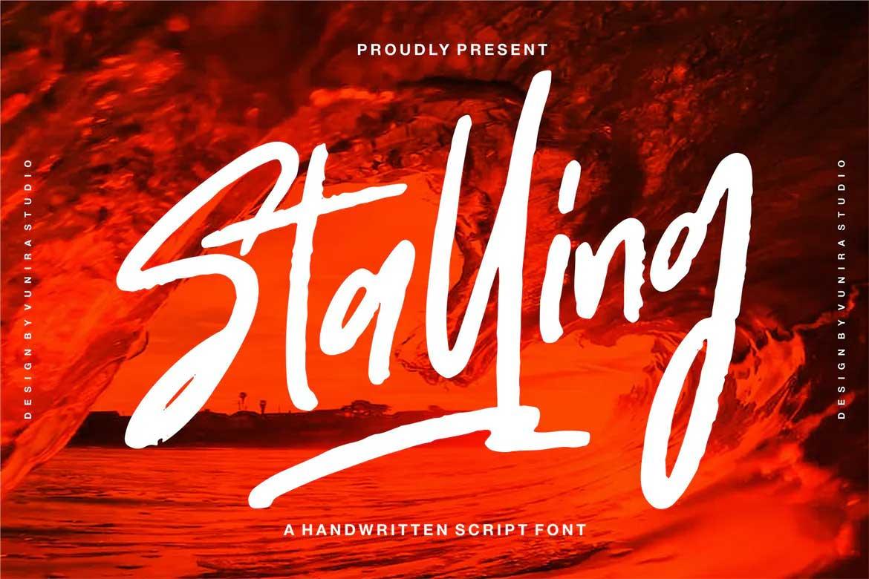 Stalling Font