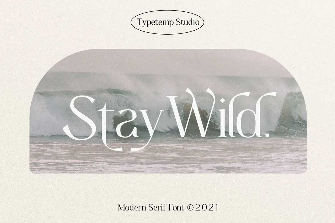 Stay Wild Font