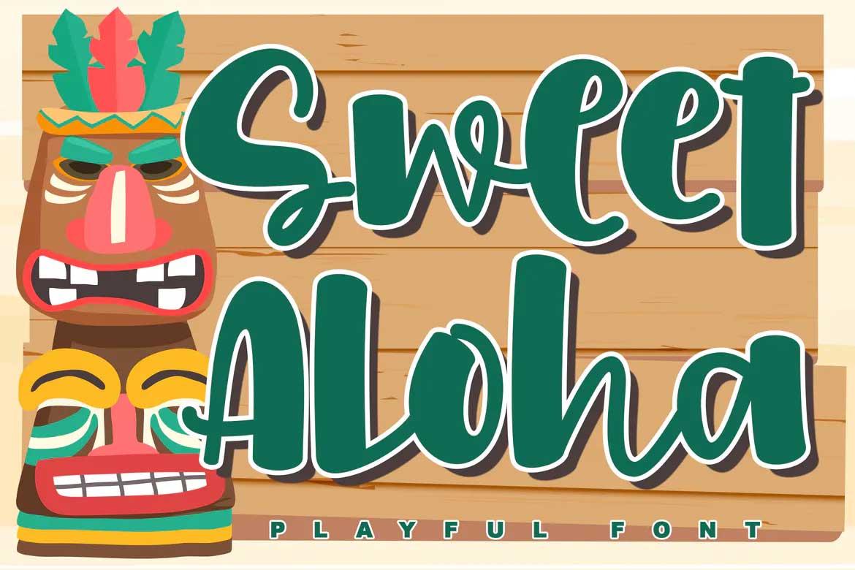 Sweet Aloha Font