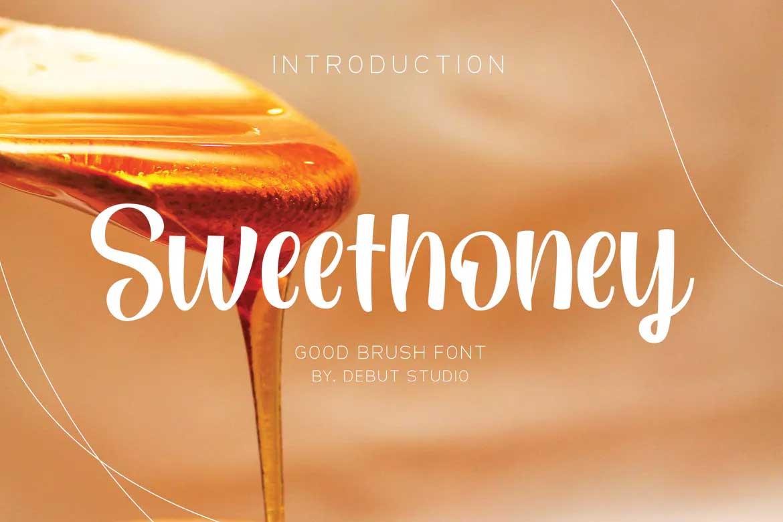 Sweethoney Font