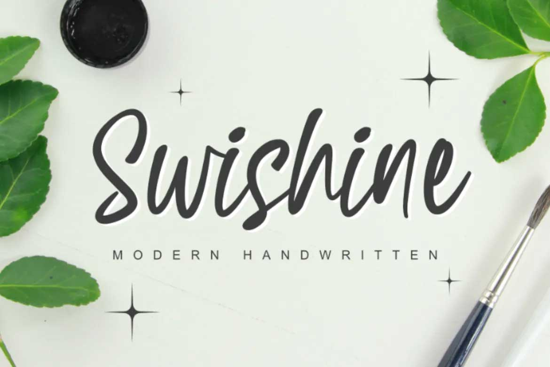 Swishine Font