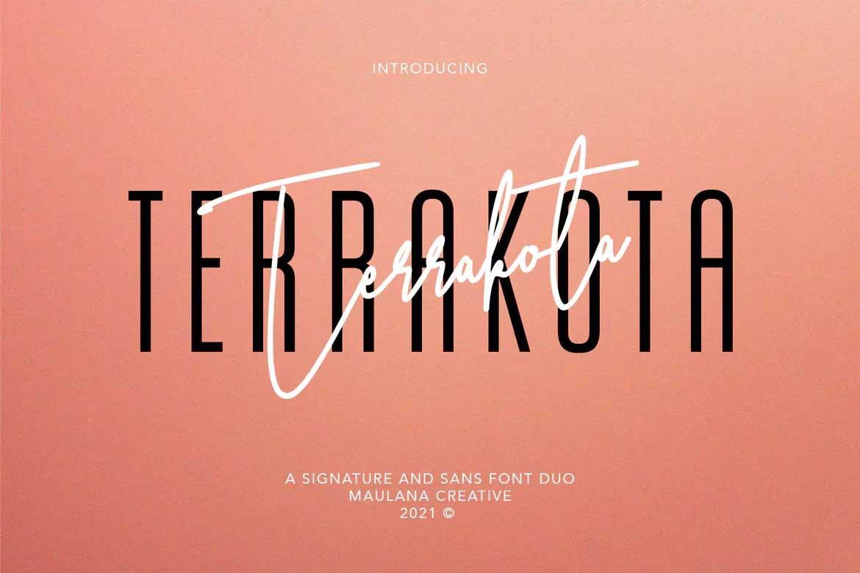 Terrakota Font