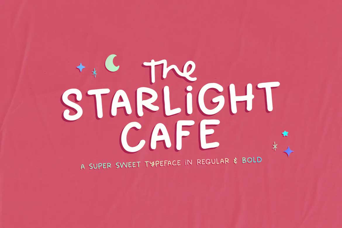 The Starlight Cafe Font