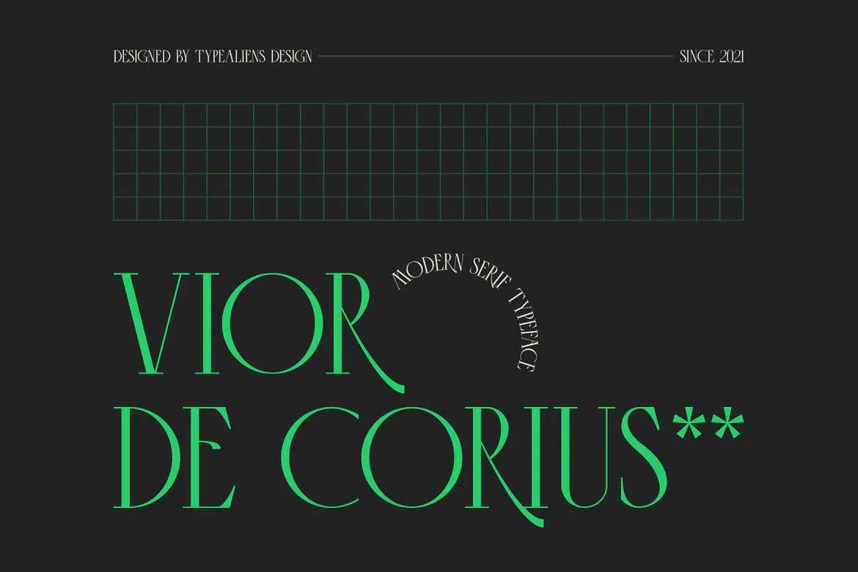 Vior de Corius Font
