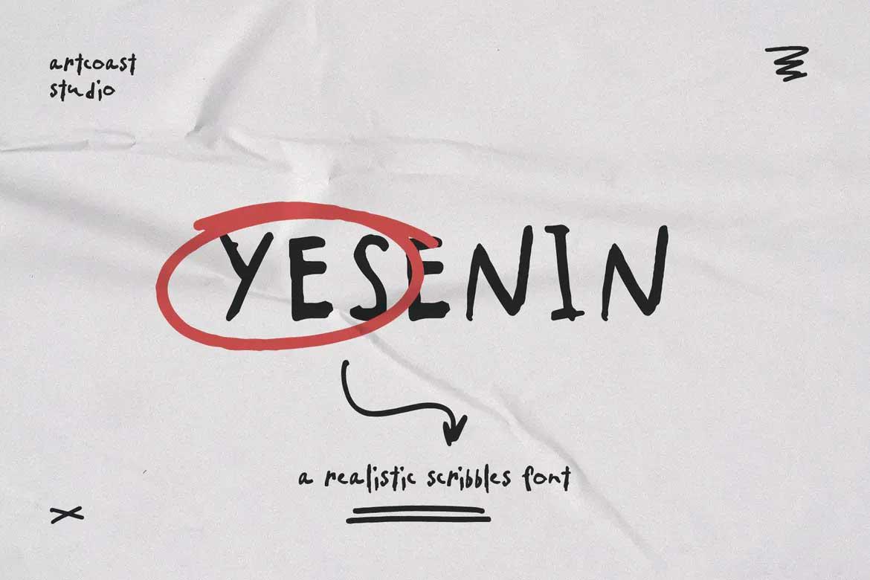 Yesenin Font