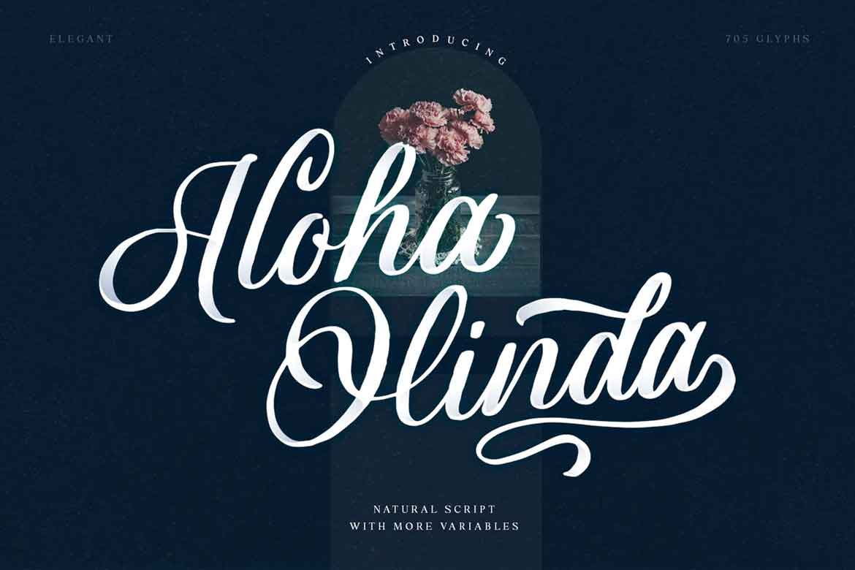 Aloha Olinda Font