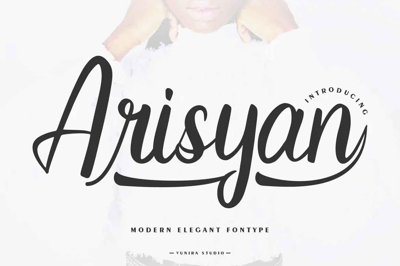 Arisyan Font