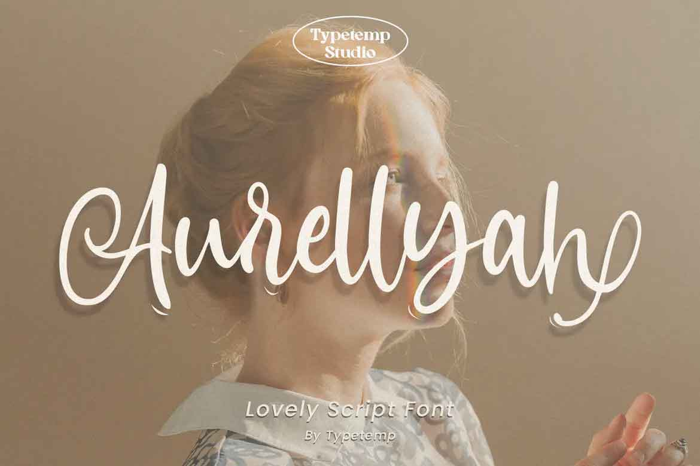 Aurellyah Lovely Script