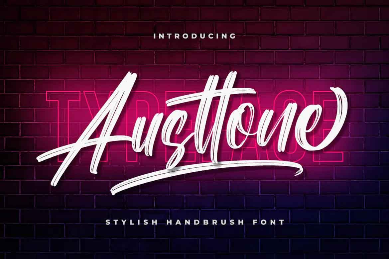 Austtone Font