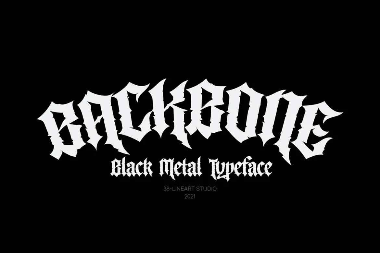 Backbone Font