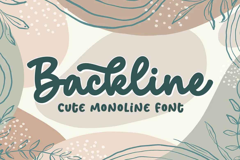 Backline Font