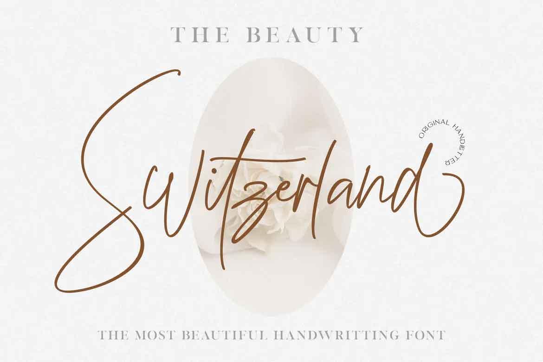 Beauty Switzerland Font