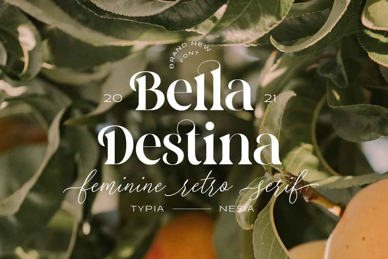 Bella Destina Font
