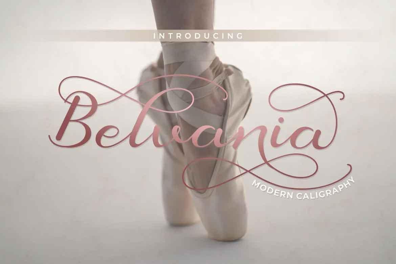 Belvania Font