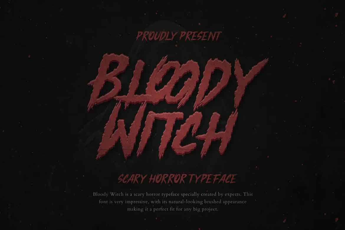Bloody Witch Font