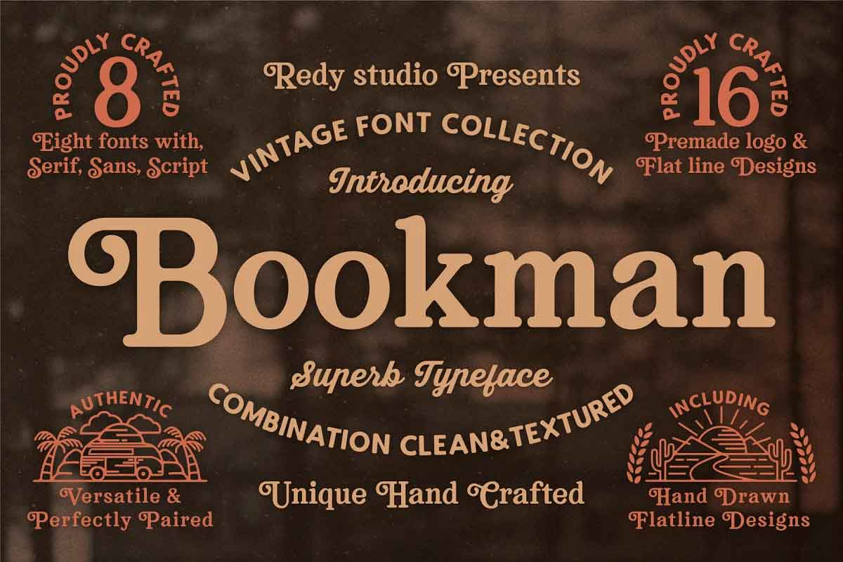 Bookman Font Collection