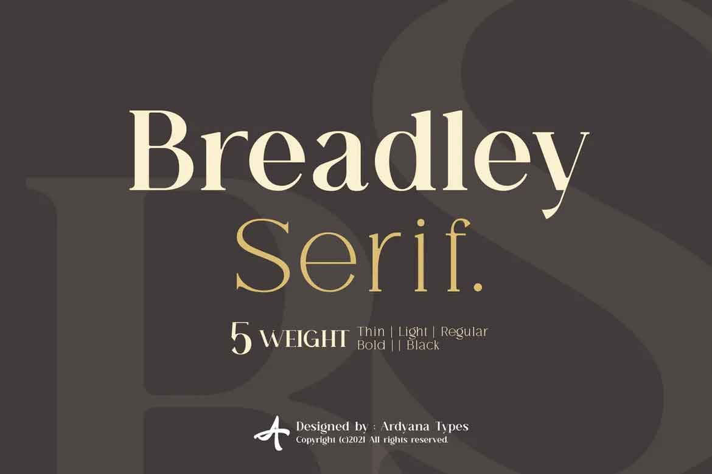 Breadley Serif