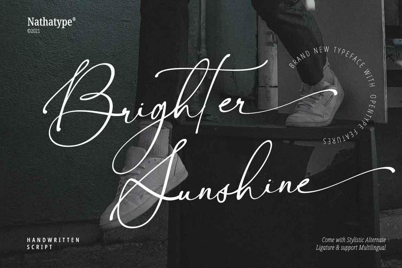 Brighter Sunshine
