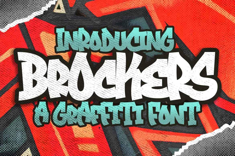 Brockers Font