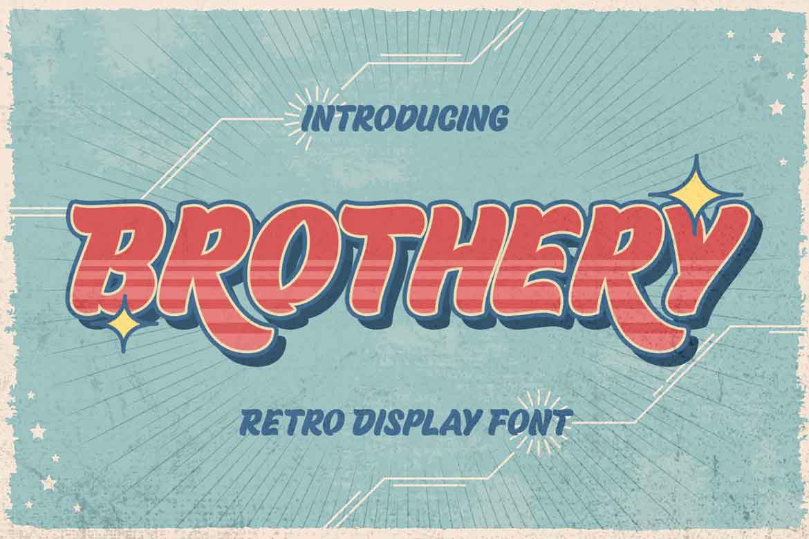 Brothery Font