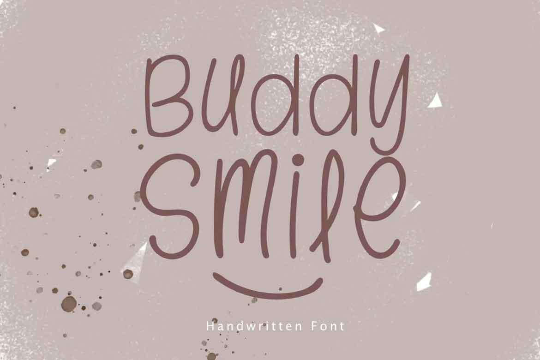 Buddy Smile Font