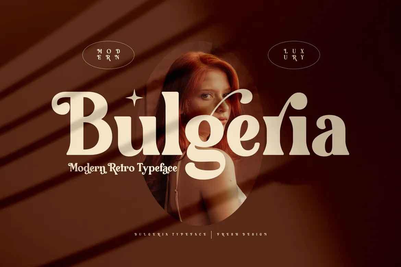 Bulgeria Font