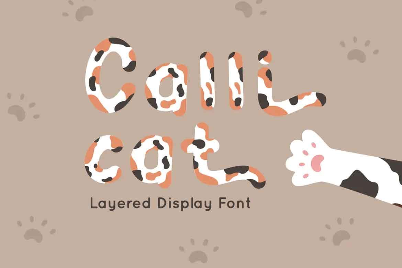 Calli Cat Font