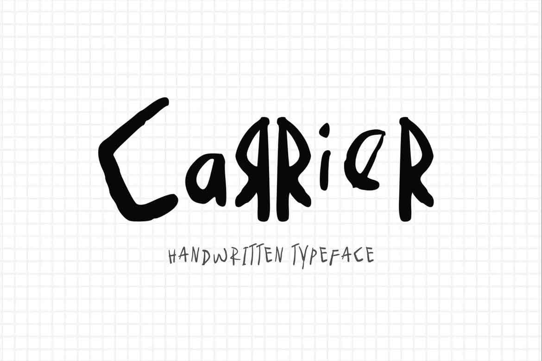 Carrier Font