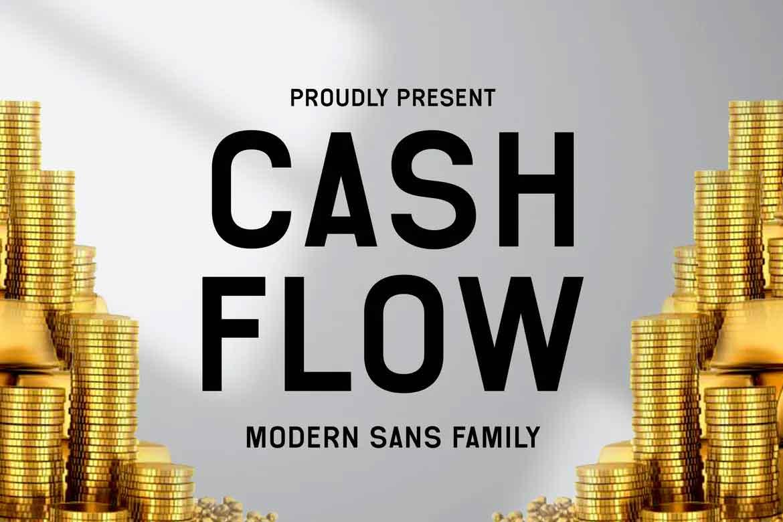 Cash Flow Font