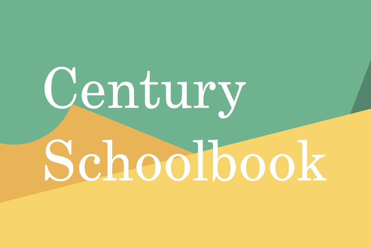 Century Schoolbook Font