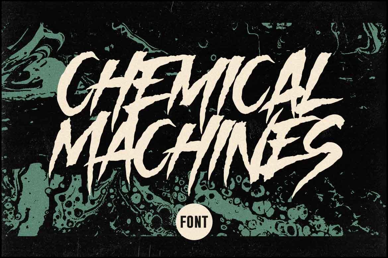 Chemical Machines Font