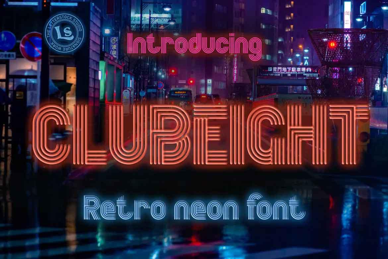 Clubeight Font