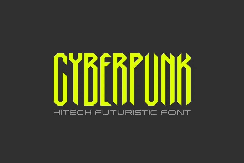 Cyberpunk Font
