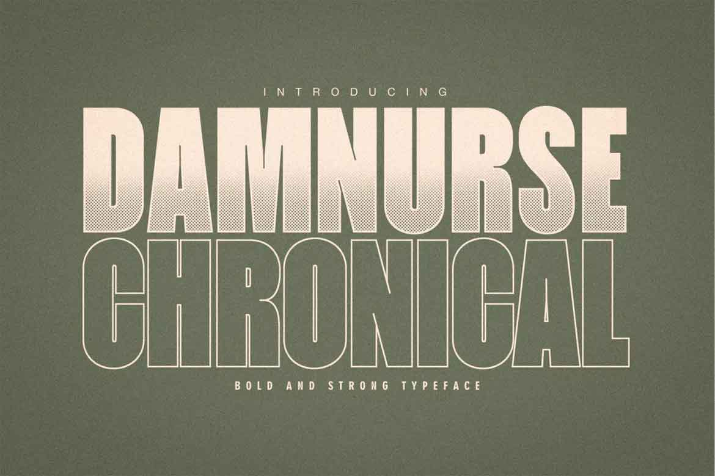 Damnurse Chronical Font