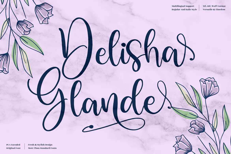 Delisha Glande Font