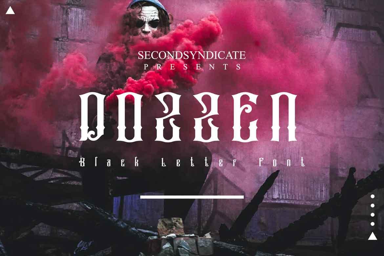 Dozzen Font