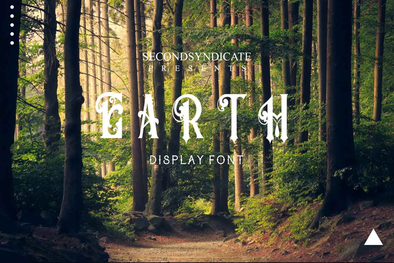 Earth Font