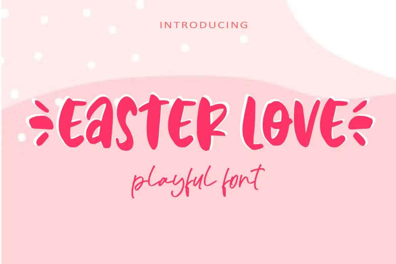 Easter Love Font