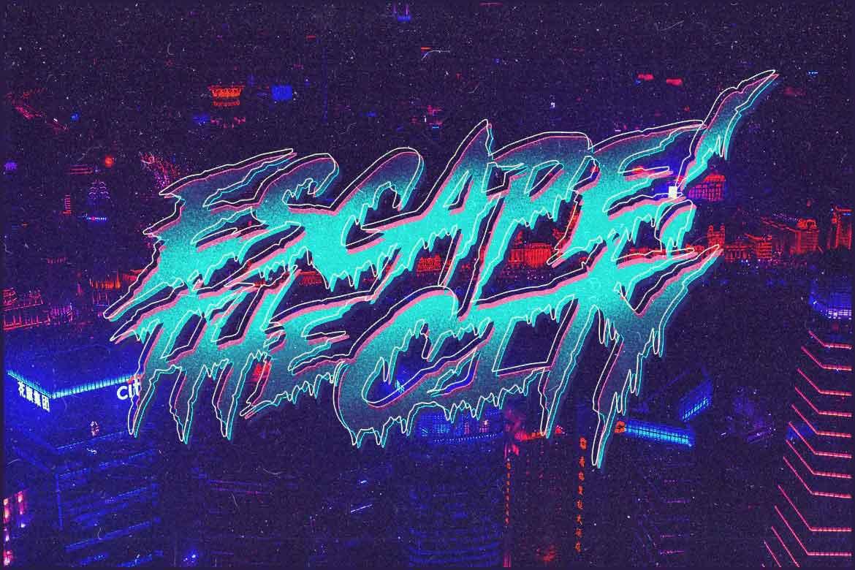Escape! Font