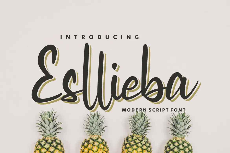 Esllieba Font