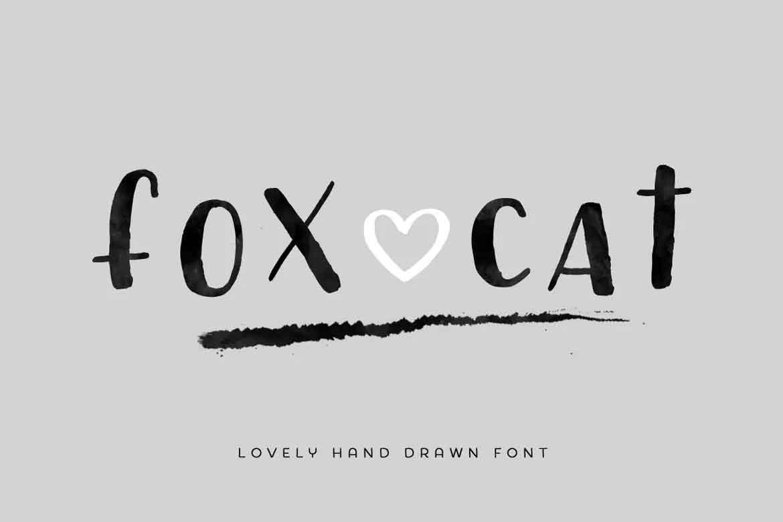 Fox Cat Font