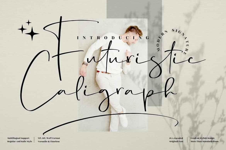 Futuristic Caligraph Font