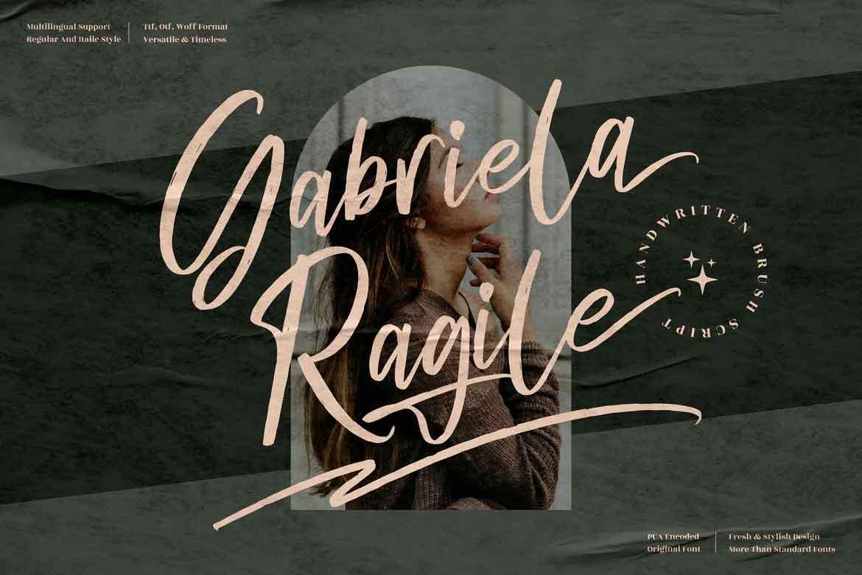 Gabriela Ragile Font