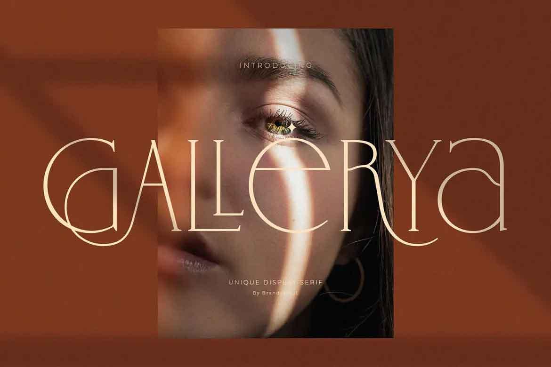 Gallerya Font