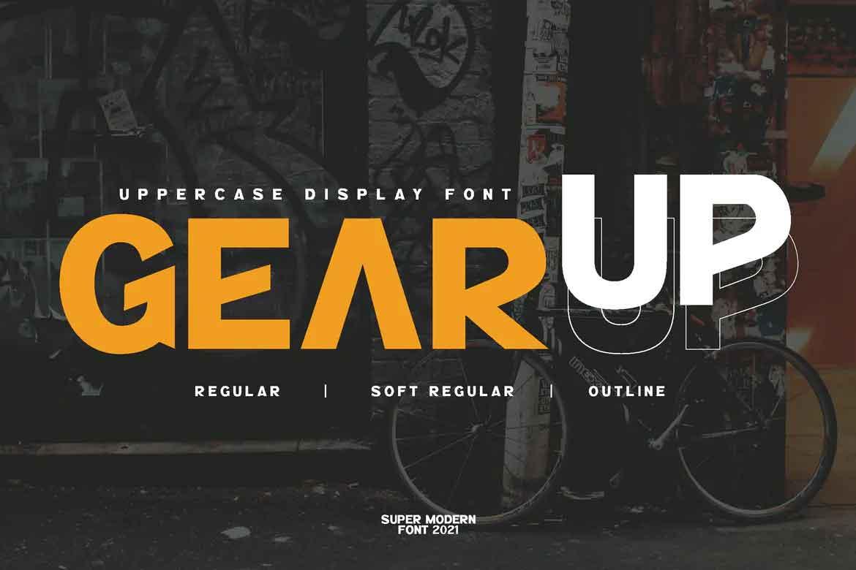 GearUp Font