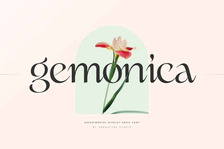 Gemonica Font