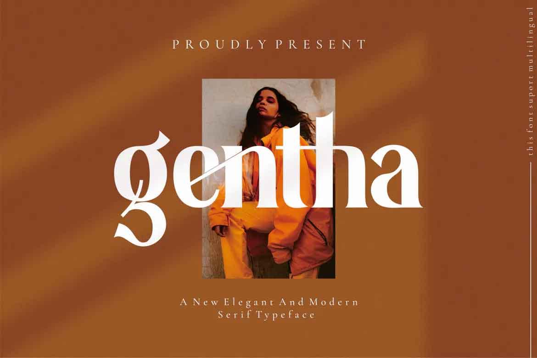 Gentha Font