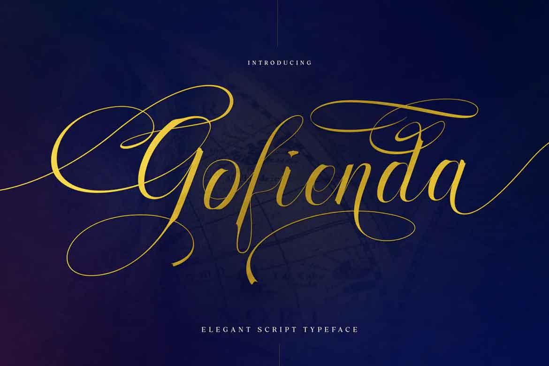 Gofienda Font