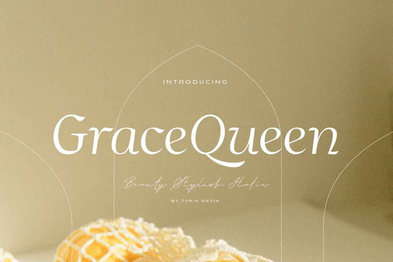 Grace Queen Font