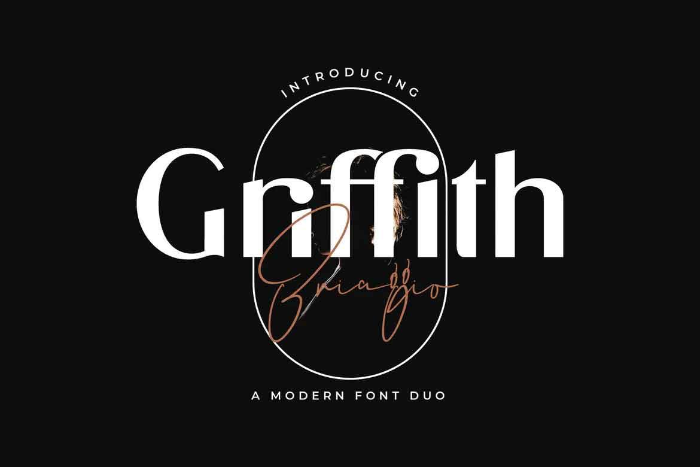 Griffith Briaggio Font